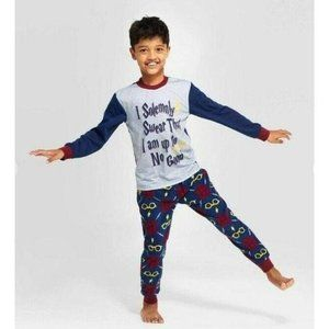 NWT Harry Potter Solemnly Swear Pajama Set Kids 10